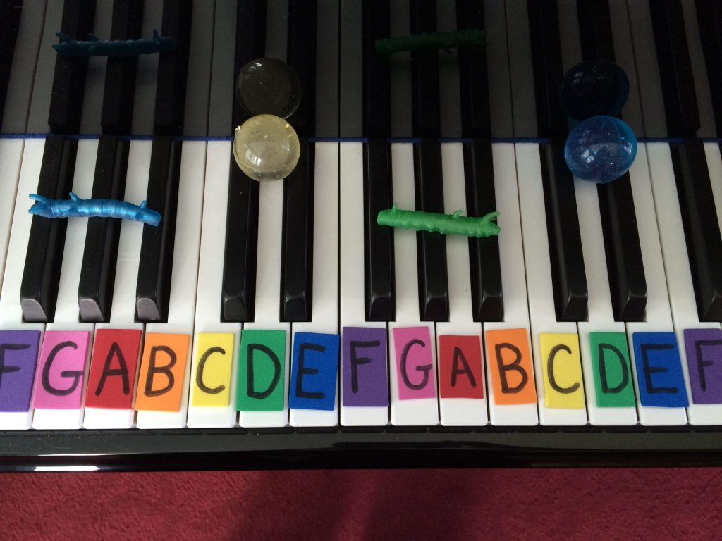 Piano Decorating