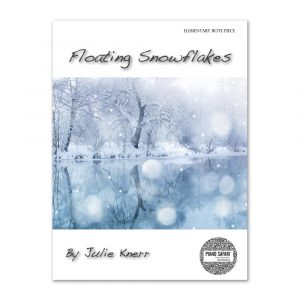 Floating Snowflakes Cover