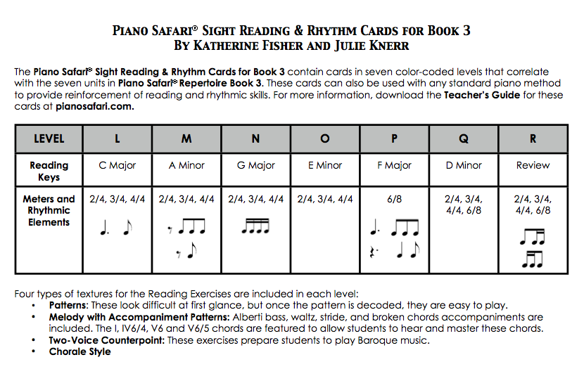 piano safari older beginner level 3 livro Loja Mineira do Musico