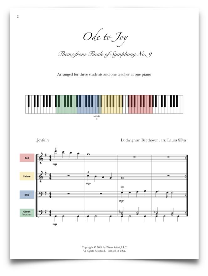 a95bc901fc9 Ode to Joy Ensemble - Piano Safari