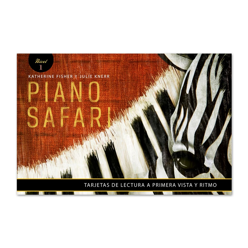 Sight Reading Cards 1 (Spanish Edition) - Piano Safari