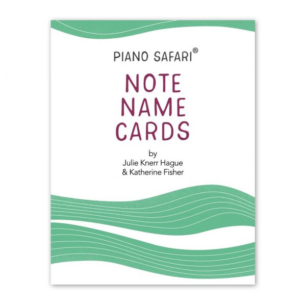 Note Name Cards