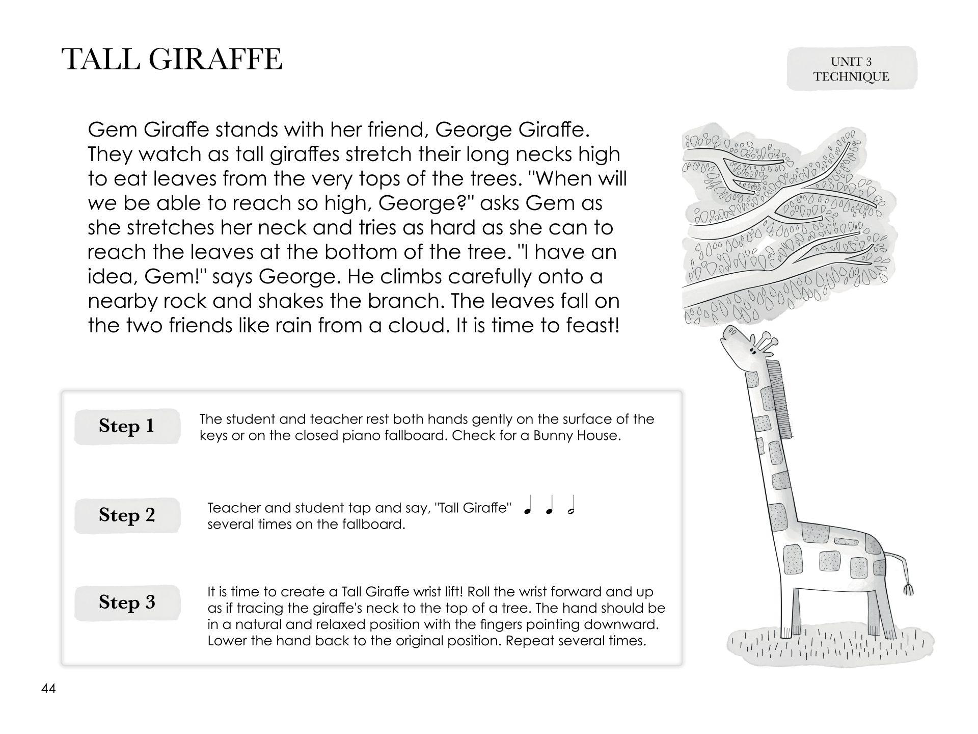 Os cartões de leitura à vista dos níveis 1, 2 e 3 do Piano Safari estão disponíveis como um pacote.